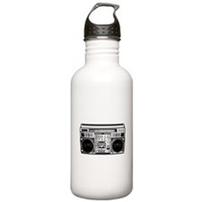 BOOM BOX OLD SCHOOL Water Bottle
