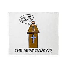 The Sermonator Throw Blanket