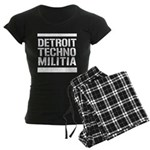Detroit Techno Militia Gear Women's Dark Pajamas