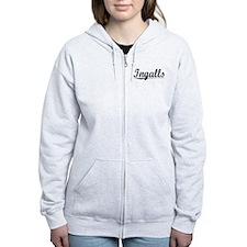 Ingalls, Vintage Zip Hoodie