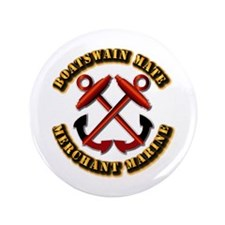 "USMM - Boatswain Mate 3.5"" Button (100 pack)"