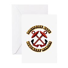 USMM - Boatswain Mate Greeting Cards (Pk of 20)