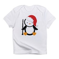 Clarinet Christmas Penguin Infant T-Shirt