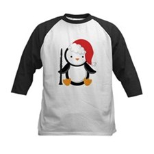Clarinet Christmas Penguin Tee