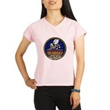 US Navy Seabees Lava Glow Performance Dry T-Shirt