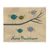 Nurse Practitioner Throw Blanket