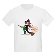 the redheaded witch  Kids T-Shirt