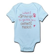 Future Cement Mason Onesie