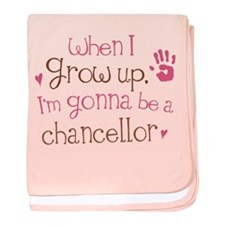 Kids Future Chancellor baby blanket