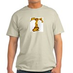 Blown Gold T Ash Grey T-Shirt