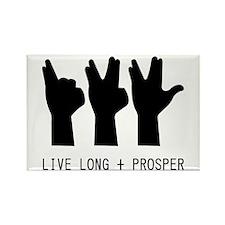 Live_long_prosper Rectangle Magnet