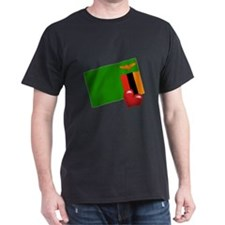 Zambia Black T-Shirt