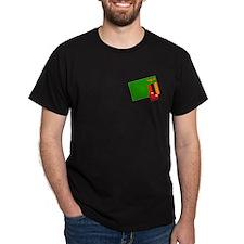 Zambia Black T-Shirt