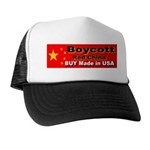 Boycott Red China Buy Made in Trucker Hat