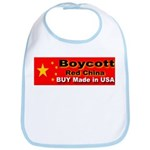 Boycott Red China Buy Made in Bib