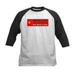 Boycott Red China Buy Made in Kids Baseball Jersey