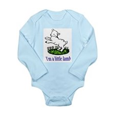 Little Lamb Infant Creeper Body Suit