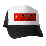 Boycott Red China They Eat Do Trucker Hat