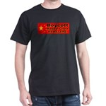 Boycott Made In China K9 Kill Black T-Shirt
