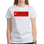 Boycott Red China! Women's T-Shirt