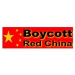 Boycott Red China! Bumper Sticker