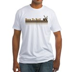 Born To Roll (Bowling) Fitted T-Shirt