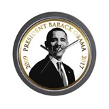 Obama Commemorative Wall Clock