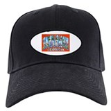 Savannah Georgia Greetings Baseball Cap