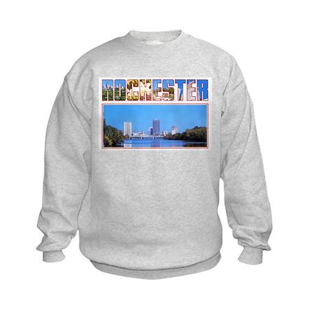 Rochester New York Greetings Kids Sweatshirt