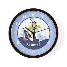 Ahoy Mate Samuel Wall Clock
