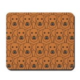 Lots of Vizslas Mousepad