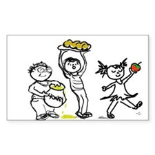 Apples & Honey Kids Jewish New Year Decal