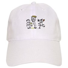Apples & Honey Kids Jewish New Year Baseball Cap