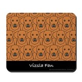 Vizsla Fan Mousepad