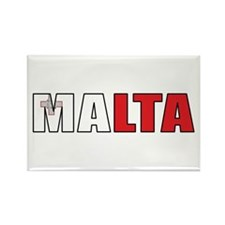 Malta Rectangle Magnet (10 pack)