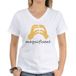 Excellent Women's V-Neck T-Shirt
