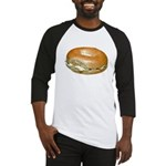 Bagel and Cream Cheese Baseball Jersey