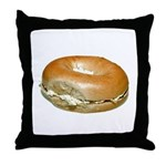 Bagel Throw Pillow