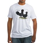 Houdan Chickens Fitted T-Shirt