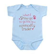 Future Commodity Trader Infant Bodysuit