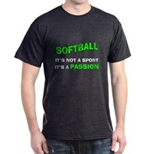 Softball It's a Passion T-Shirt