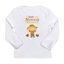Scarecrow I Love Nonna Long Sleeve Infant T-Shirt