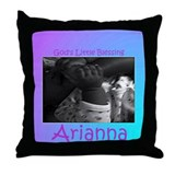 baby arianna.jpg Throw Pillow