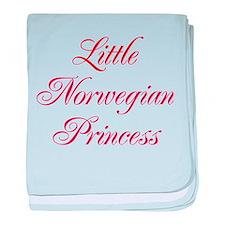 Little Norwegian Princess baby blanket