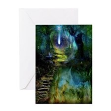 Mystical Entry Blank Art Card