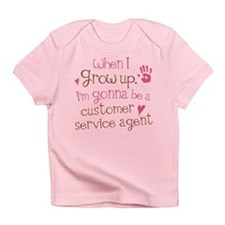 Future Customer Service Agent Infant T-Shirt