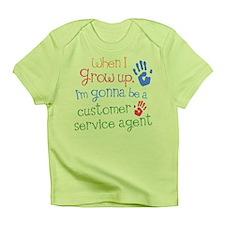Future Customer Service Agent Infant T-Shirt