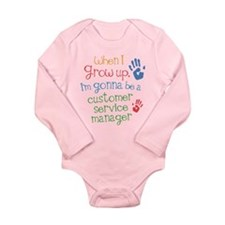 Future Customer Service Agent Long Sleeve Infant B