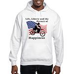 Motocross Happiness Hooded Sweatshirt