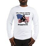 Motocross Happiness Long Sleeve T-Shirt
